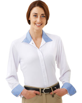 Ovation Women's Jorden Tech Show Shirt, White, hi-res