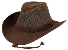 Outback Trading Co. Knotting Hill Canyonland Cloth Hat, Brown, hi-res
