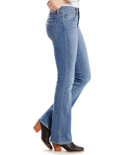 Levi's Women's Vintage Mid-Rise Boot Cut Jeans, Blue, hi-res