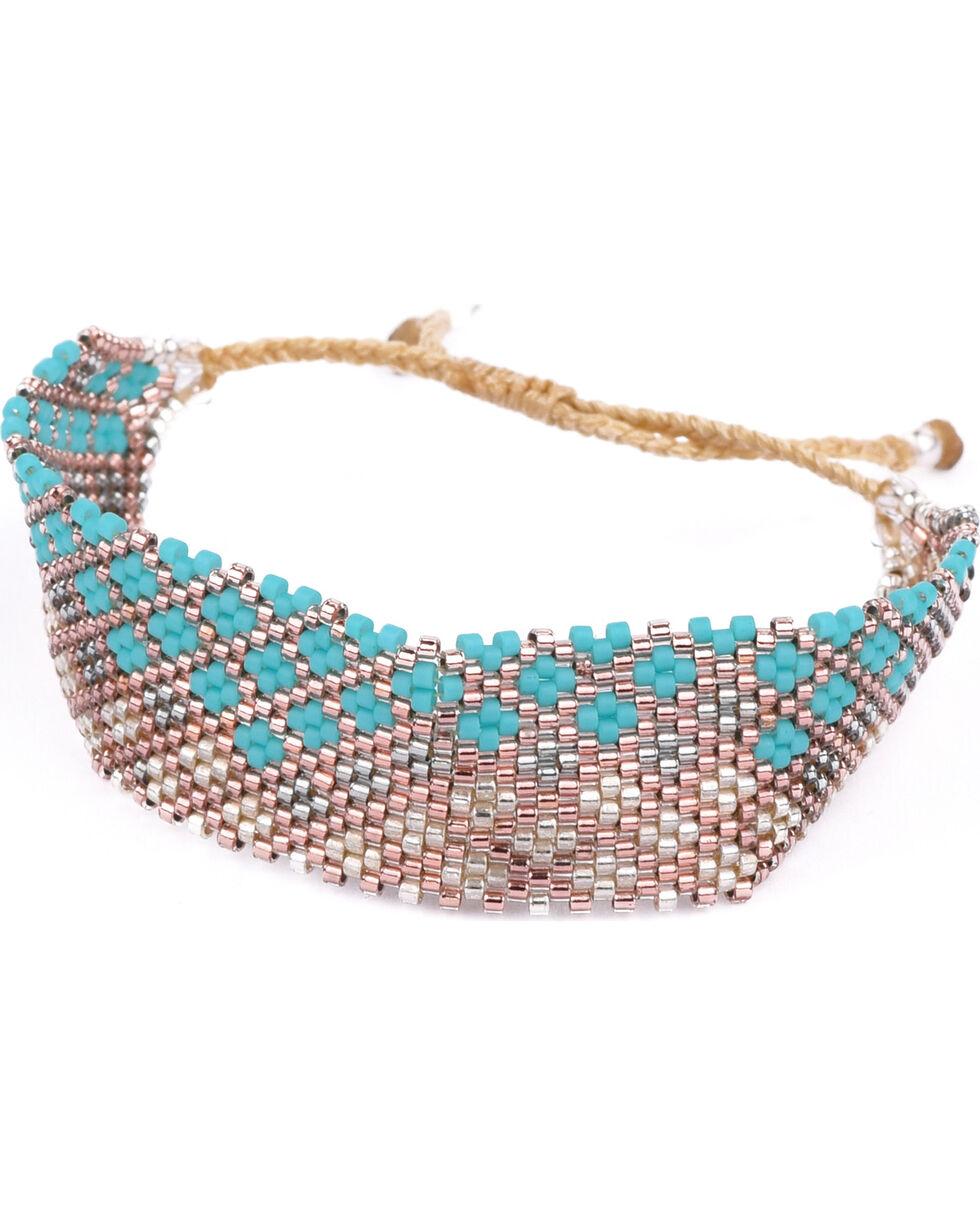 Kutula Kiss Women's Turquoise Lil Buzz Bracelet , Turquoise, hi-res