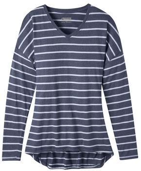 Mountain Khakis Women's Cora Long Sleeve Shirt, Navy, hi-res