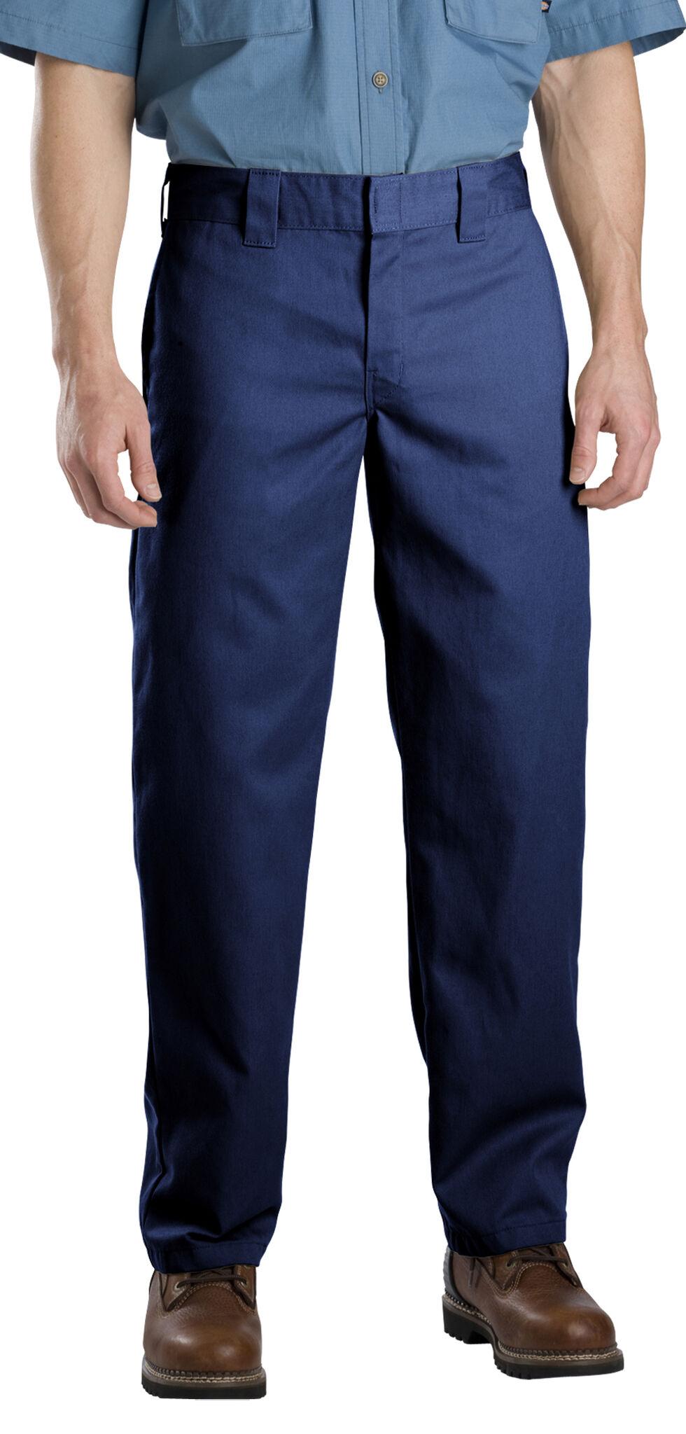 Dickies Slim Fit Straight Leg Work Pants, Navy, hi-res