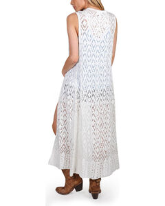 Shyanne Women's Diamond Knit Fashion Duster, Multi, hi-res