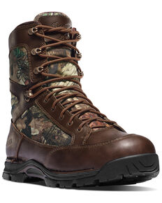 Danner Men's Pronghorn Waterproof Work Boots - Round Toe, Brown, hi-res