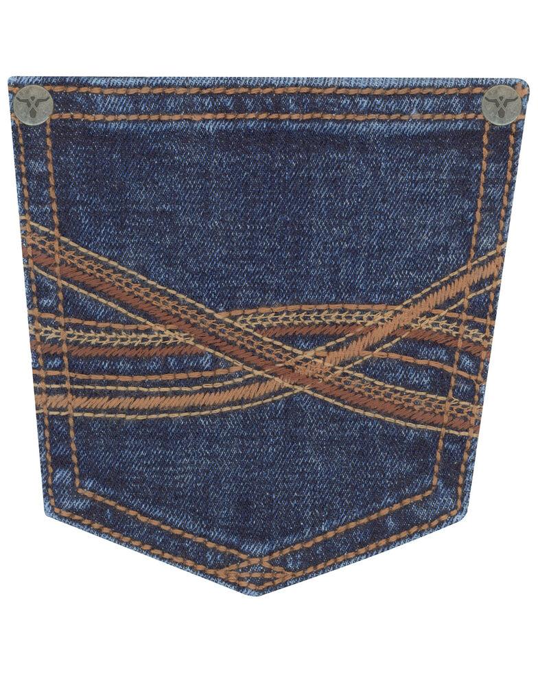 Wrangler Toddler Boys' No. 44 Victoria Stretch Slim Straight Jeans , Blue, hi-res