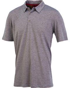 Browning Men's Grey Berkshire Short Sleeve Polo , Grey, hi-res