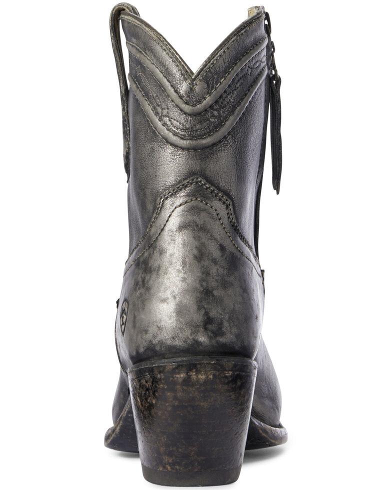 Ariat Women's Legacy Silver Fashion Booties - Snip Toe, Grey, hi-res