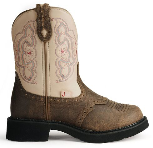 Justin Gypsy Distressed Western Boots, Barnwood, hi-res
