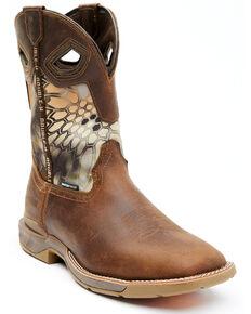 Double H Men's Kryptek Waterproof Western Boots - Wide Square Toe, Brown, hi-res
