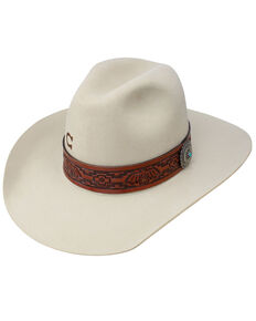 Charlie 1 Horse Men's Chief Bone Wool Felt Hat , Natural, hi-res
