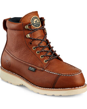 "Irish Setter by Red Wing Shoes Men's Wingshooter UltraDry 7"" Work Boots , Light Brown, hi-res"