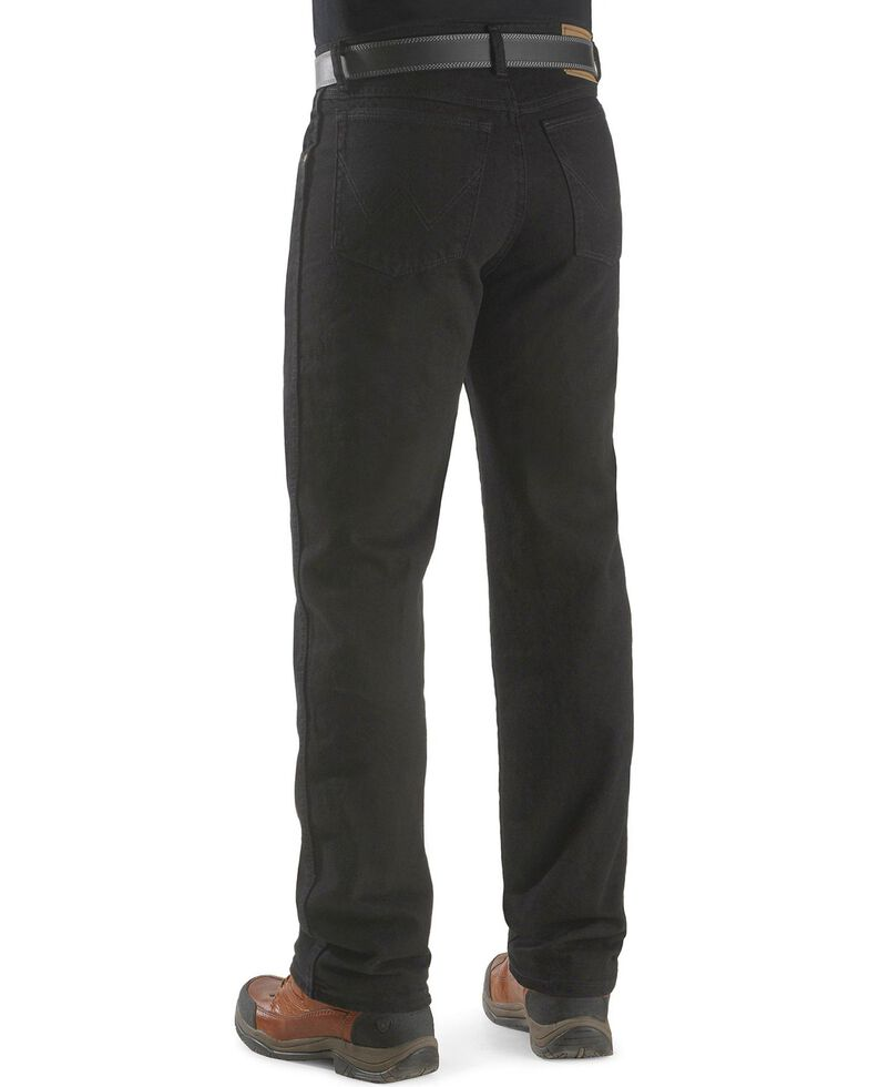 Wrangler Rugged Wear Classic Fit Jeans - Big , Black, hi-res