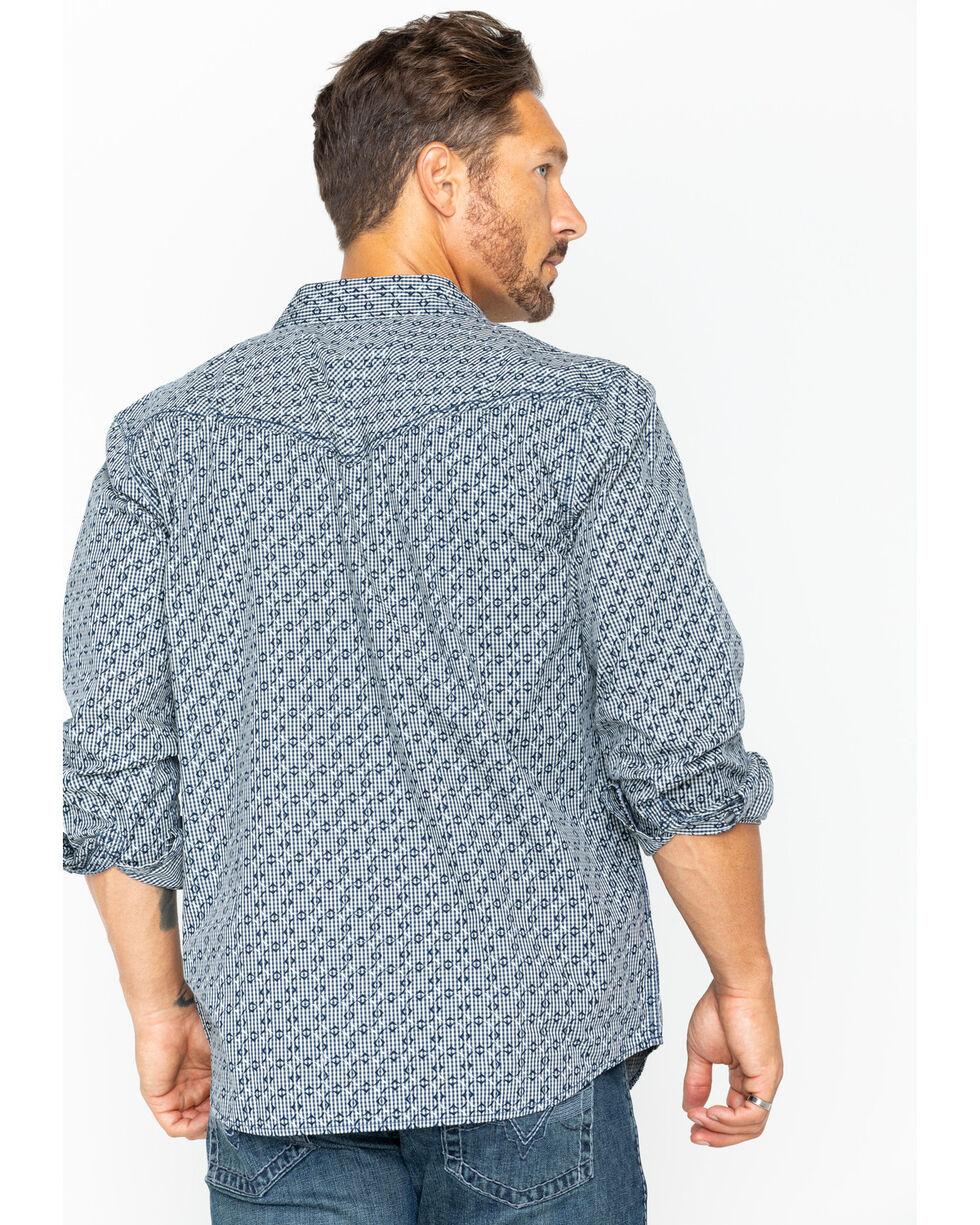 Moonshine Spirit Men's Hidden Printed Long Sleeve Shirt, Black, hi-res