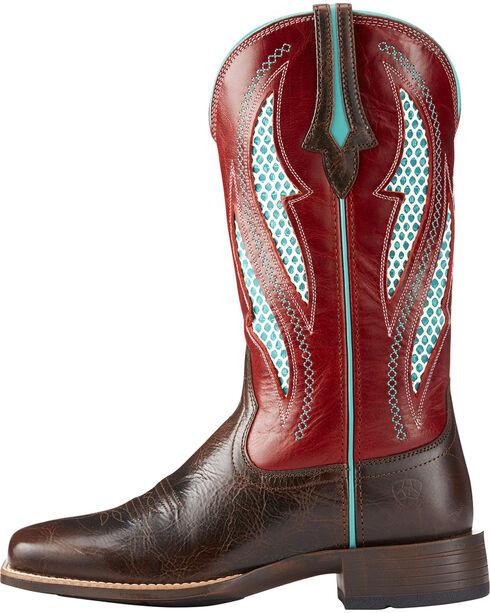 Ariat Women's VentTEK Ultra Cowgirl Boots - Square Toe , Lt Brown, hi-res