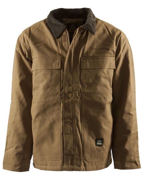 Berne Brown Duck Original Chore Coat - Tall 2XT, Brown, hi-res