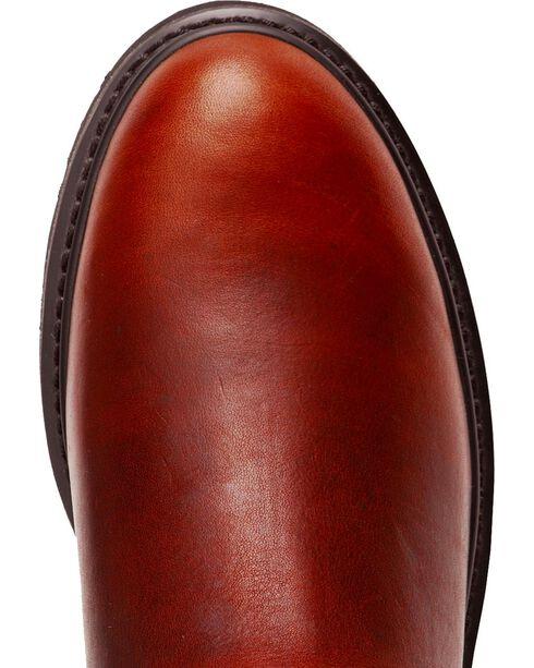 Justin Premium Pull-On Work Boots - Round Toe, Tan, hi-res