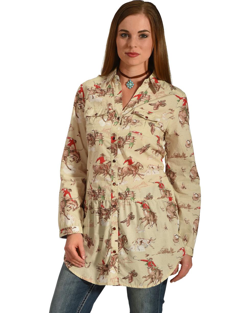 Tasha Polizzi Women's Four Corners Tunic , Multi, hi-res