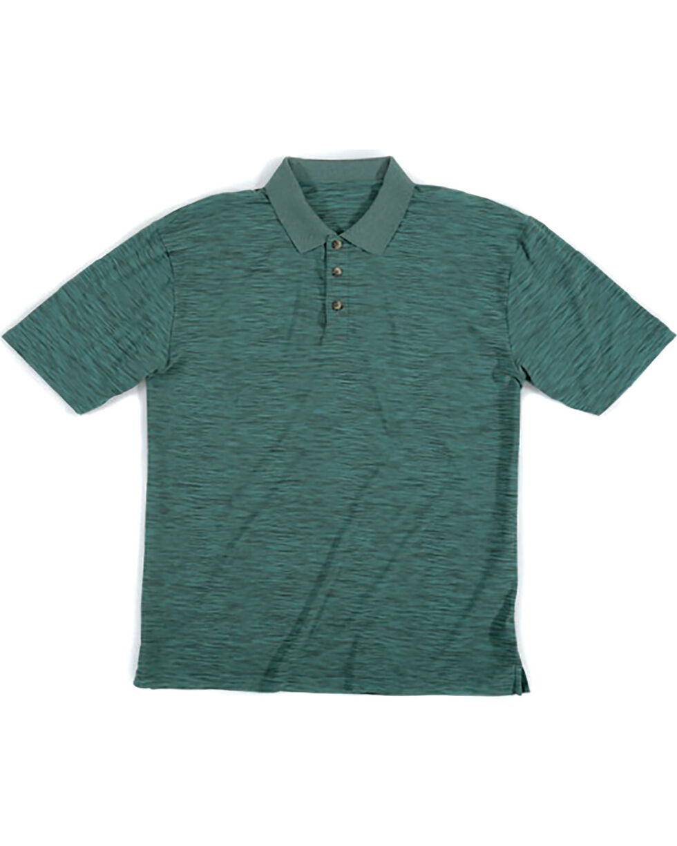 Wrangler Men's Green Riggs Workwear Polo , Green, hi-res
