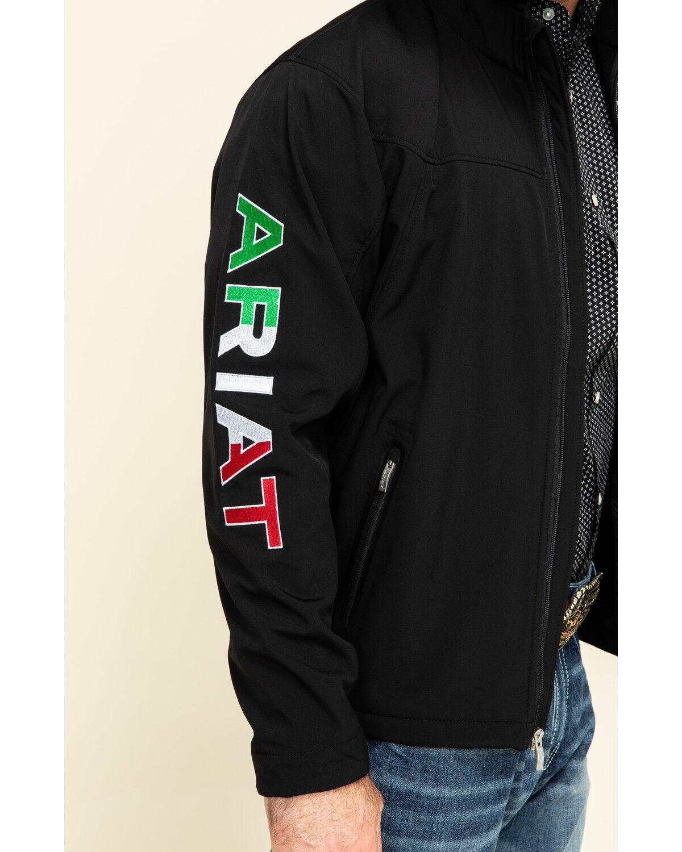 Ariat Mens New Team Softshell Jacket Black