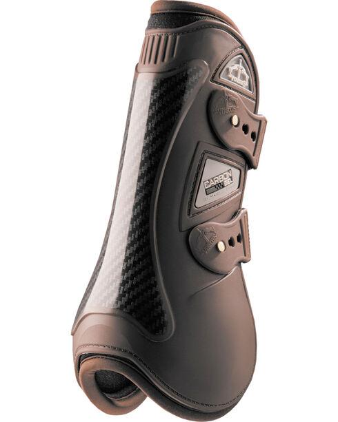 Veredus Brown Carbon Gel Open Front Boots, , hi-res