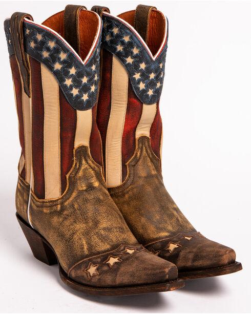 Dan Post Liberty Cowgirl Boots, Brown, hi-res
