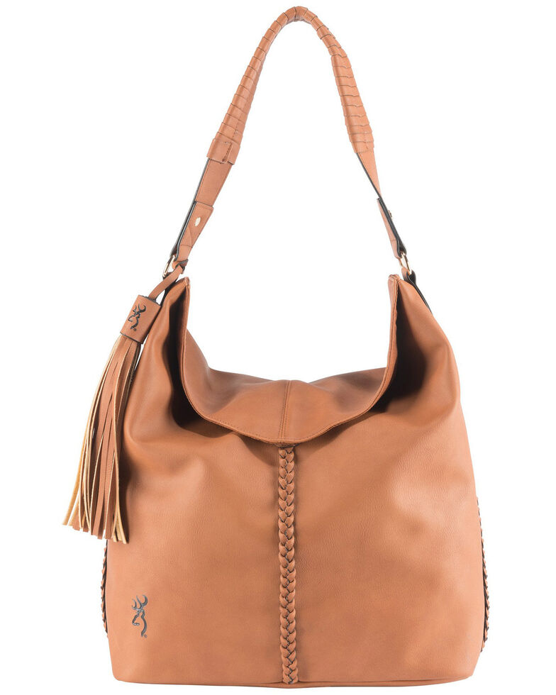 Browning Women's Brown Ashley Concealed Carry Handbag, Brown, hi-res