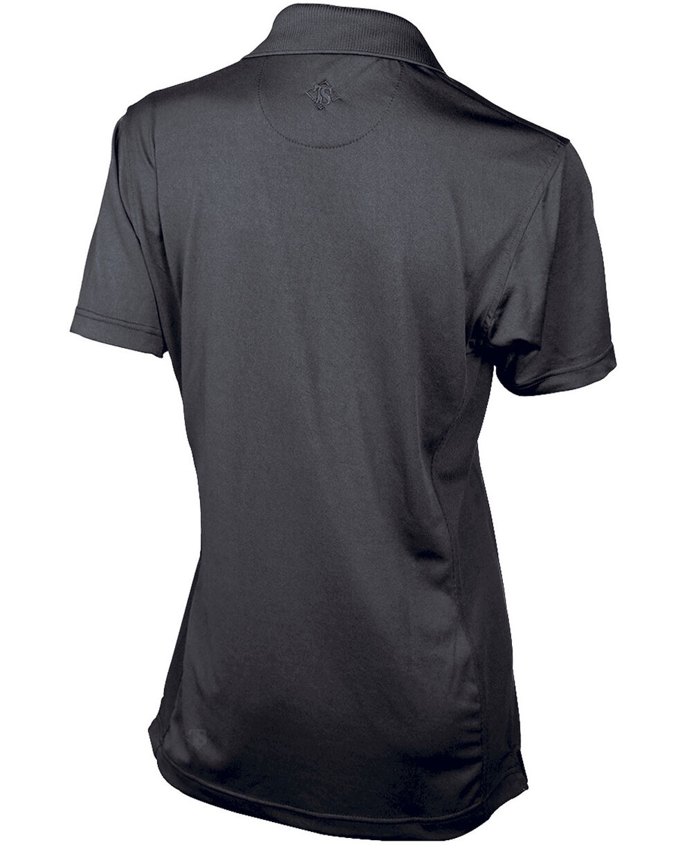 Tru-Spec Women's 24-7 Series Short Sleeve Eco Tec Polo - Plus, Black, hi-res