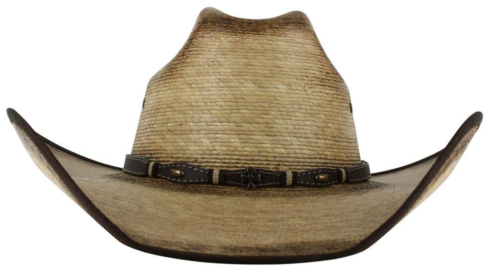 Cody James Men's Ponderosa Straw Cowboy Hat , Natural, hi-res