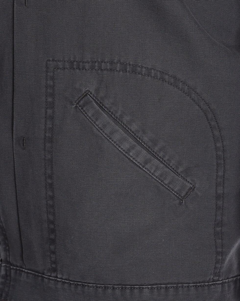 Wrangler Men's Vintage Inspired Canvas Jacket, Grey, hi-res