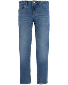 Levi's Girls' 711 Indigo Ray Skinny Leg Jeans - Slim, Blue, hi-res