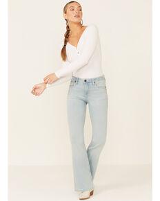 Wrangler Women's Bailey Flare Leg Jeans, Blue, hi-res