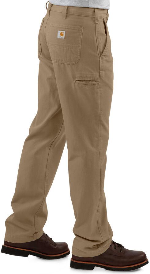 Carhartt Khaki Canvas Work Pants, Khaki, hi-res