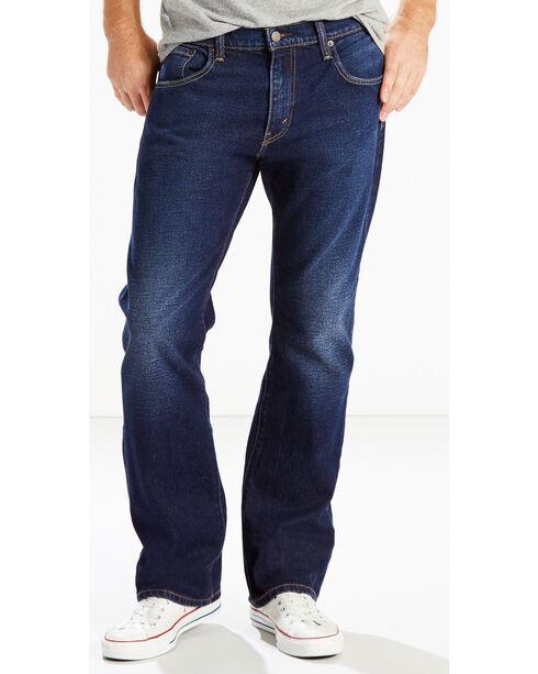 Levi's Men's 517 Boot Cut Stretch Jeans, Indigo, hi-res