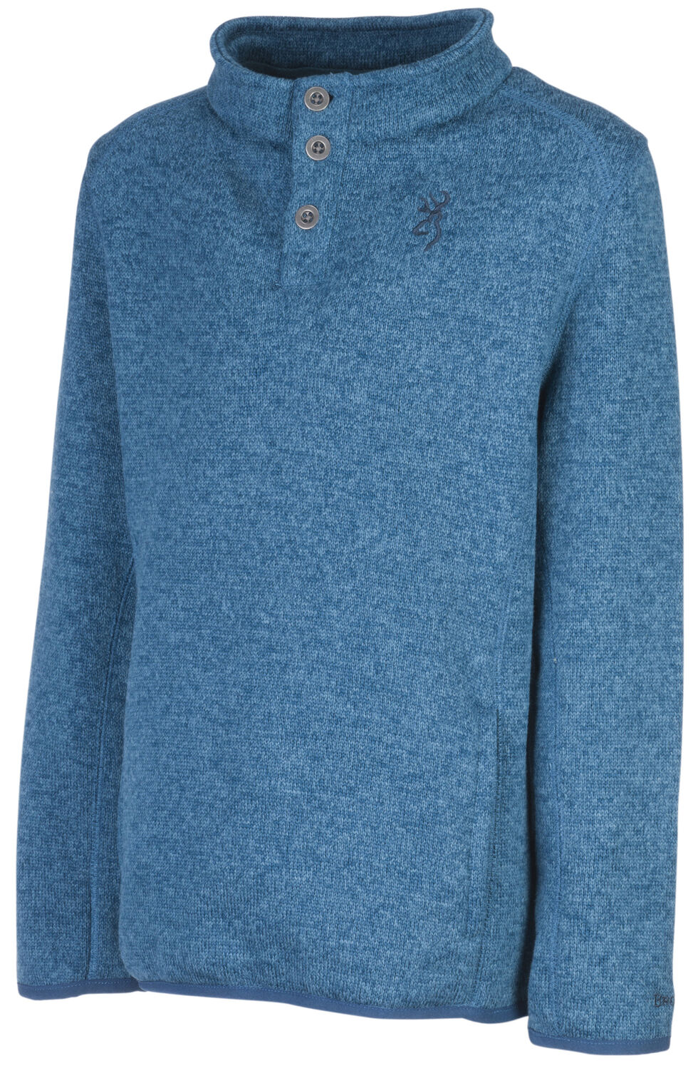 Browning Boys' Blue Gilson Sweater, Blue, hi-res