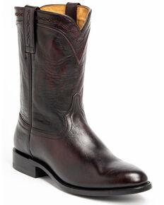 Cody James Men's Colt Western Boots - Round Toe, Black Cherry, hi-res