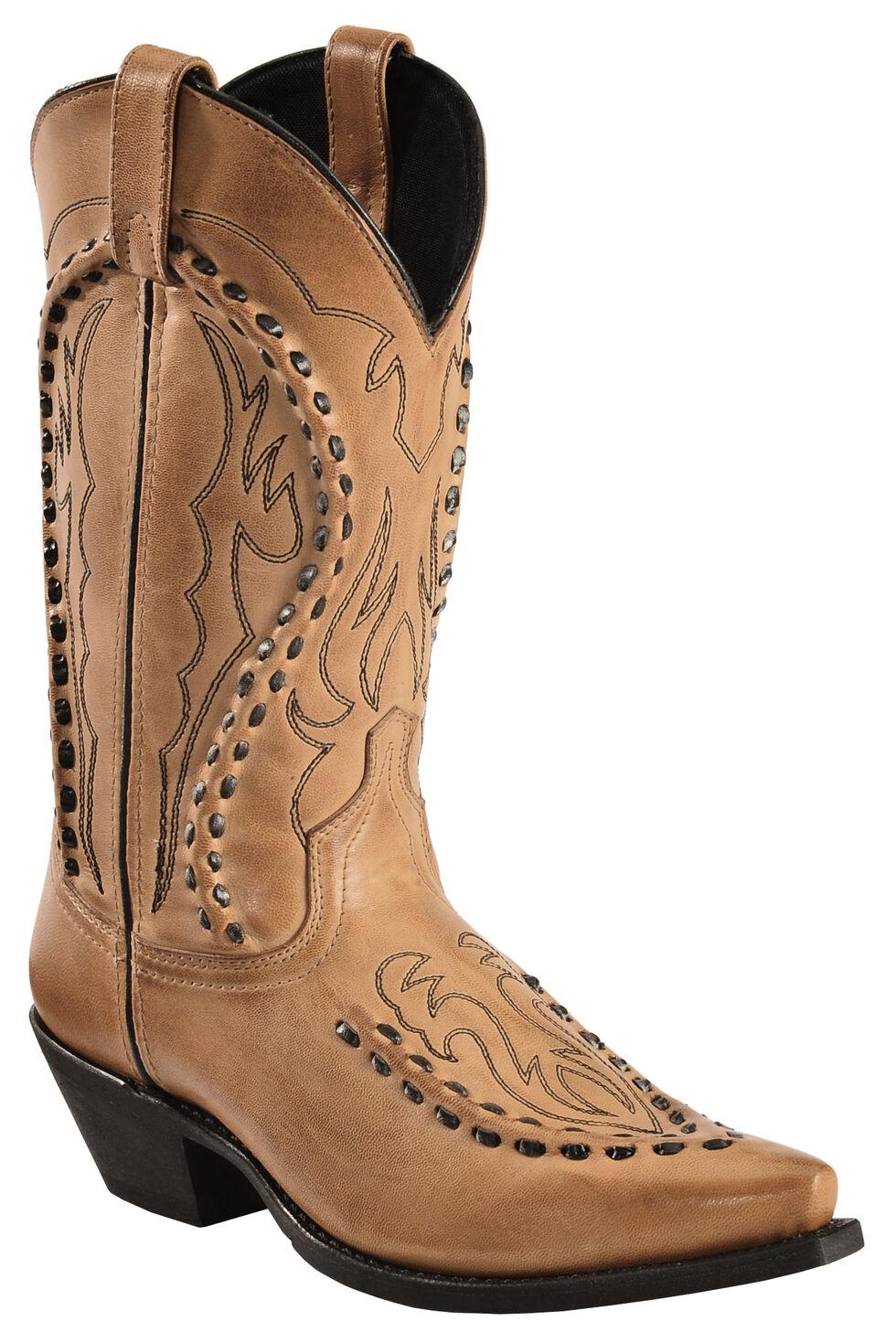 Laredo Men's Laramie Western Boots - Snip Toe, Antique Tan, hi-res