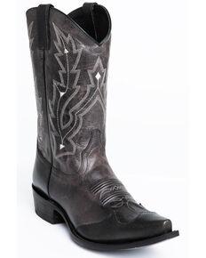 Cody James Men's Sidney Western Boots - Snip Toe, Grey, hi-res