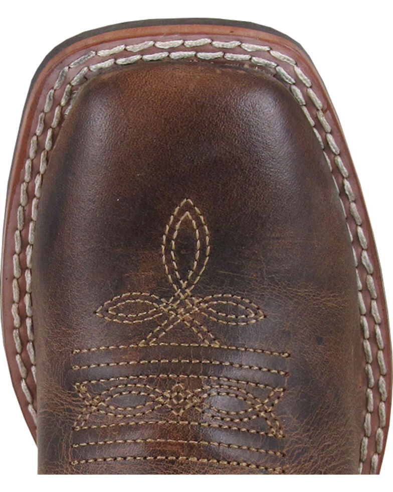 c1997f30174 Smoky Mountain Boys' White Jesse Western Boots - Square Toe