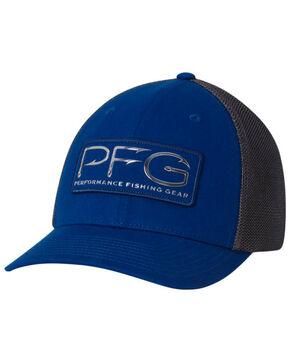 Columbia Men's Marine Blue PFG Metal Mesh Cap, Blue, hi-res