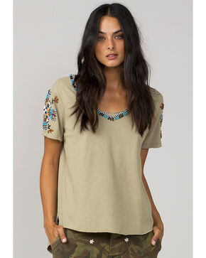 MM Vintage Women's Olive Chasing Dreams Top, Olive, hi-res