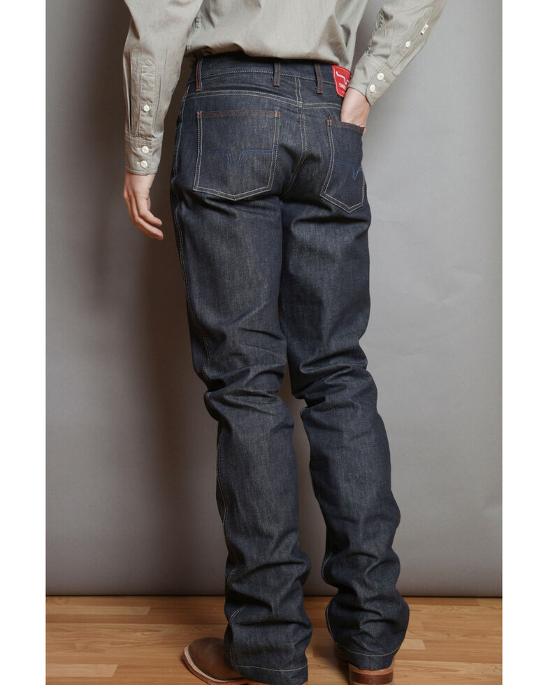 Kimes Ranch Men's Raw Dillon Low Relaxed Bootcut Jeans , Blue, hi-res