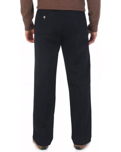 "Wrangler Rugged Wear Pleated Pants - Big Up to 50"" Waist, Black, hi-res"