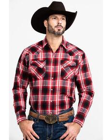 Ely Cattleman Men's Assorted Multi Textured Plaid Large Plaid Long Sleeve Western Shirt - Big , Multi, hi-res