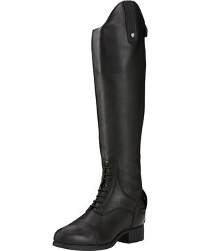 Ariat Women's Black Tall Bromont Pro Zip Insulated Paddock Boots, Black, hi-res