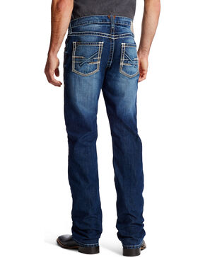 Ariat Men's Indigo M5 Ryker Bay Low Rise Slim Jeans - Straight Leg , Indigo, hi-res