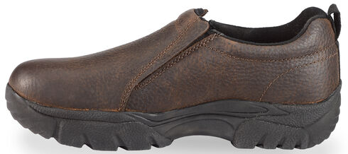 Roper Women's Performance Sport Slip-On Casual Shoes - Round Toe, Brown, hi-res