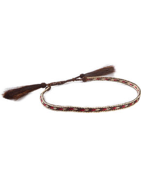 Cody James Braided Horsehair Hat Band, Brown, hi-res