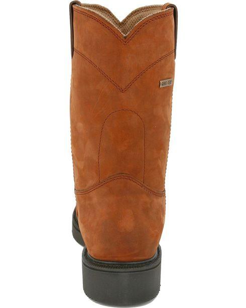 Justin Men's Transcontinental EH Waterproof Work Boots - Soft Toe, Aged Bark, hi-res