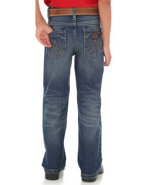 Wrangler Retro Boys' Lawton Relaxed Boot Cut Jeans (8-18) - Husky, Indigo, hi-res