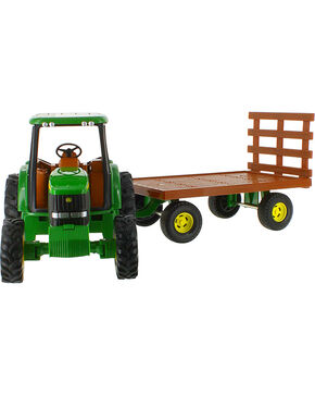 John Deere Tractor and Wagon Playset, Green, hi-res